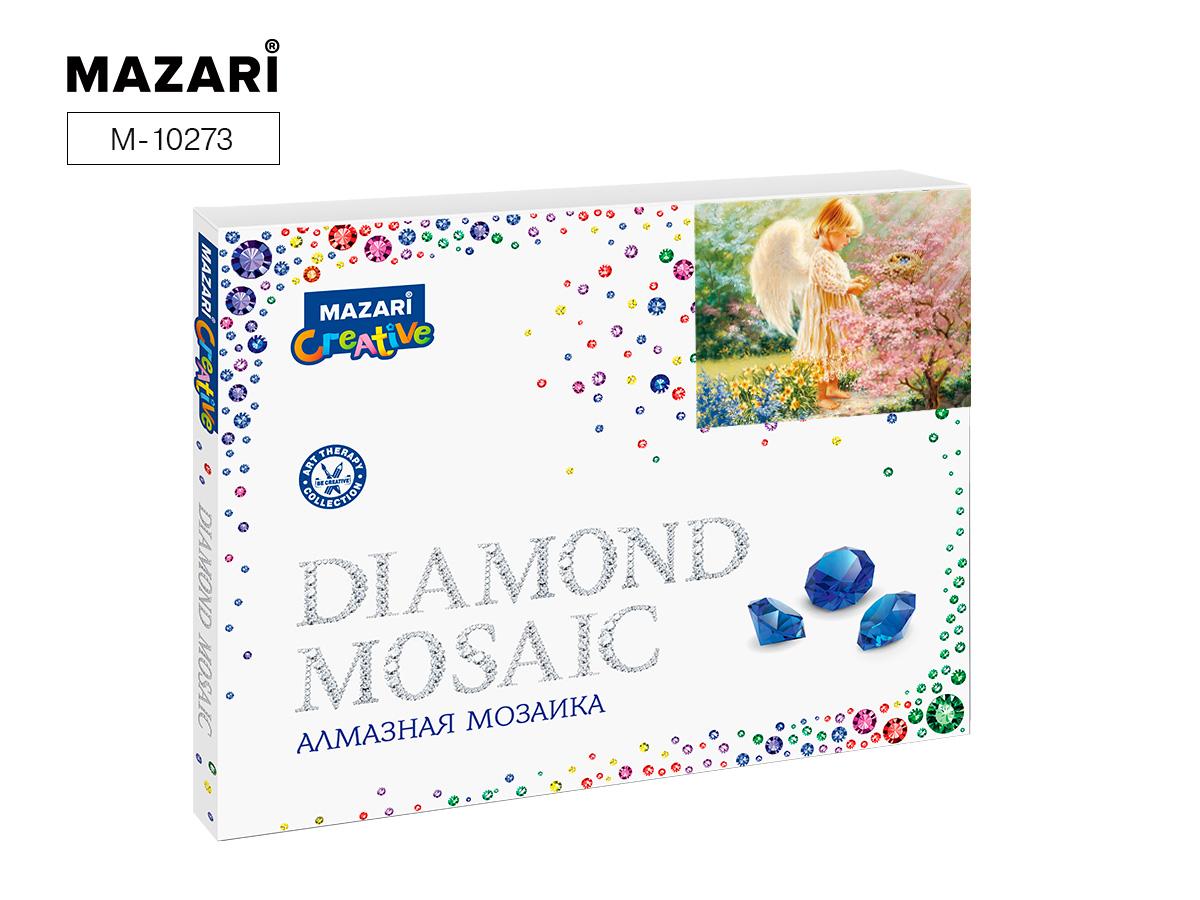 Алмазная мозаика 40*50см Ангел частичная выкладка