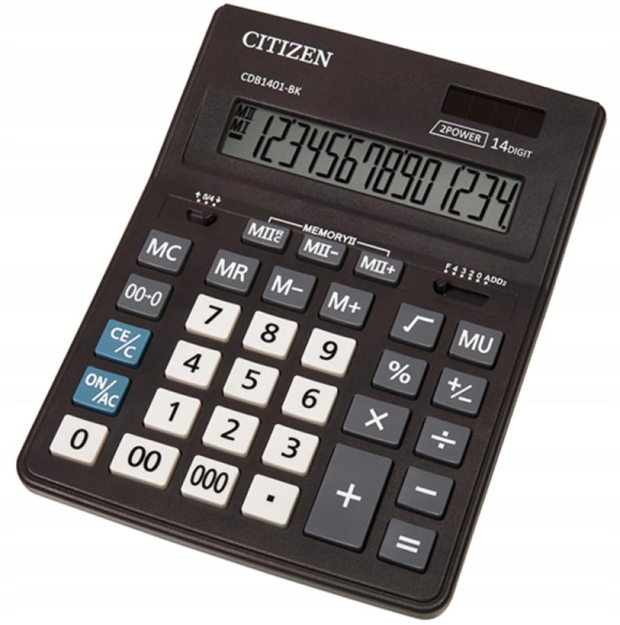 Калькулятор наст. CITIZEN Business Line 12 разр. дв.пит. 205*155мм