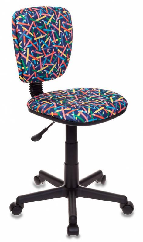 Кресло детское Бюрократ CH-204NX/pencil-bl Карандаши синий
