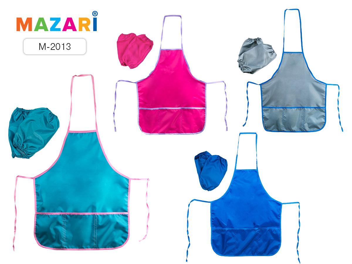 Фартук+нарукав. для труда 3 кармана Mazari 4 цвета