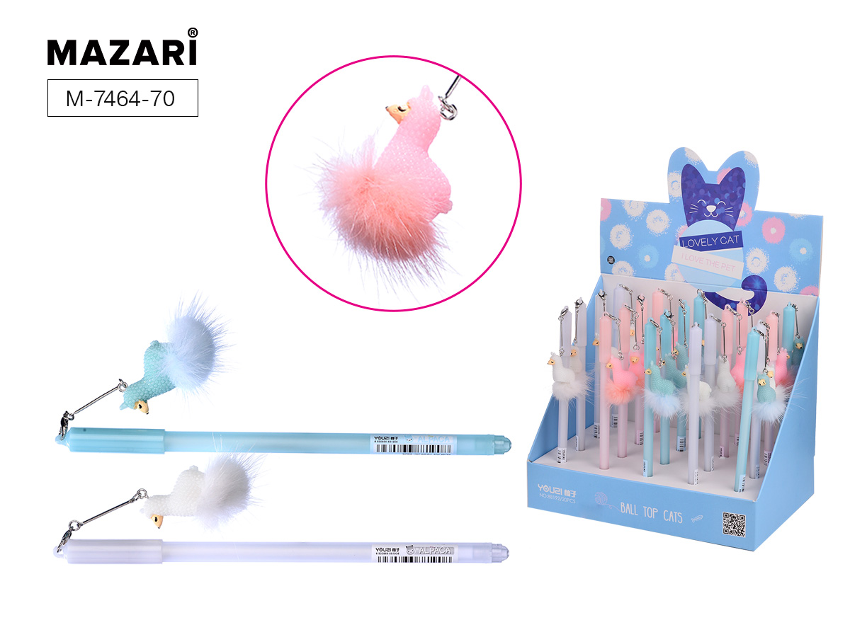 Ручка Mazari Alpaca 0,7 синяя