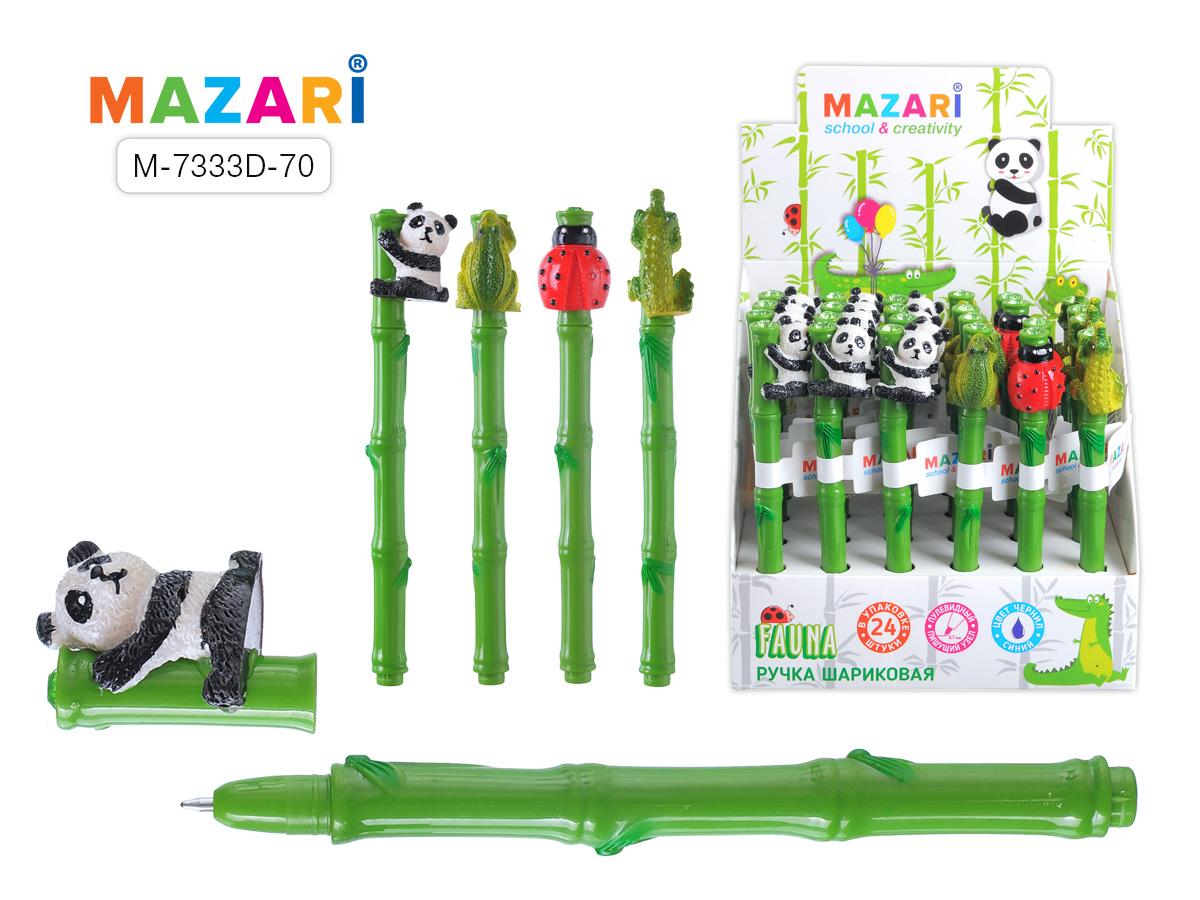 Ручка Mazari Fauna 0,7 син