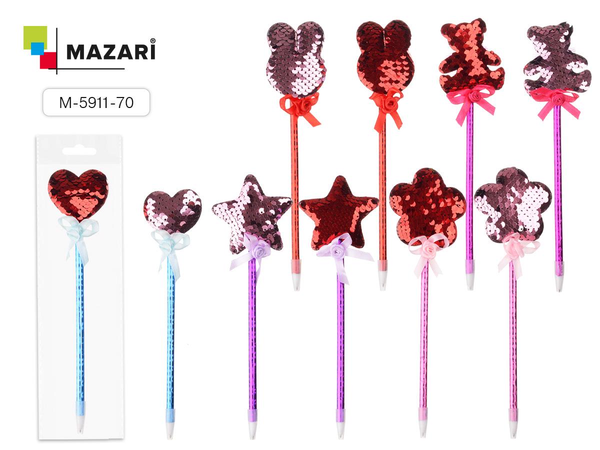 Ручка Mazari Hello 0,7мм синяя