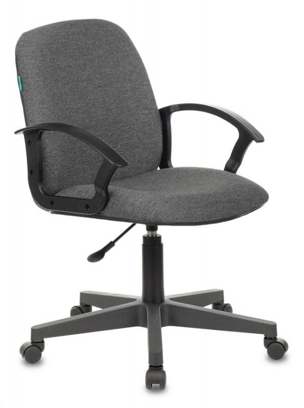 Кресло Бюрократ CH-808-LOW низкая спинка серый 3C1