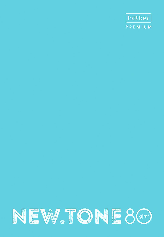 Тетр. А4  80л Хатбер глянц.лам. Pastel Незабудка