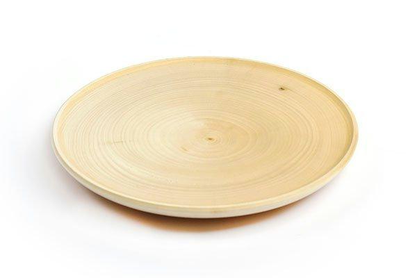 Деревянная заготовка из липы Тарелка 14см