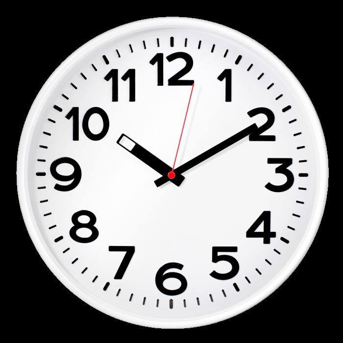 Часы настен. Troyka круглые белая рамка 30см