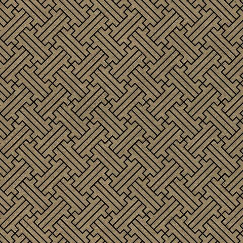 "Бумага Крафт ""Kraft Geometric"" 70*100 плотность 80г/м2 5 дизайнов"