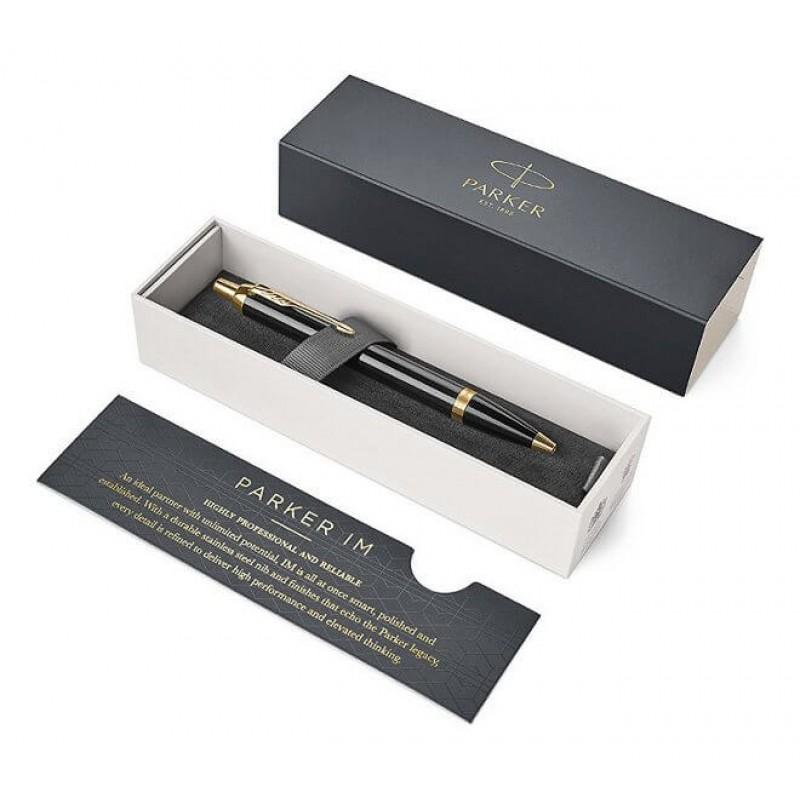 Ручка Parker IM Black GT 1,00мм синяя