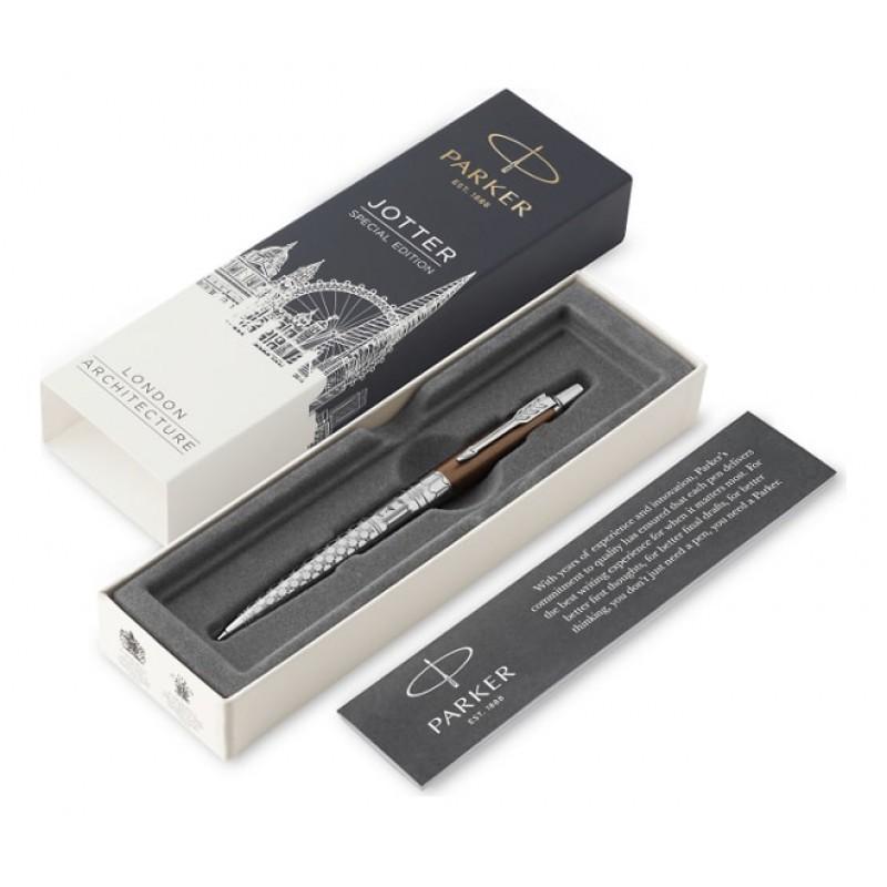 Ручка Parker Jotter K175 SE London Architecture  Gothic Bronze M синяя