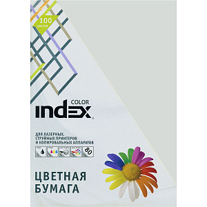 "Бумага ""Index Color"" А4 80г/м2 100л светло-серая"