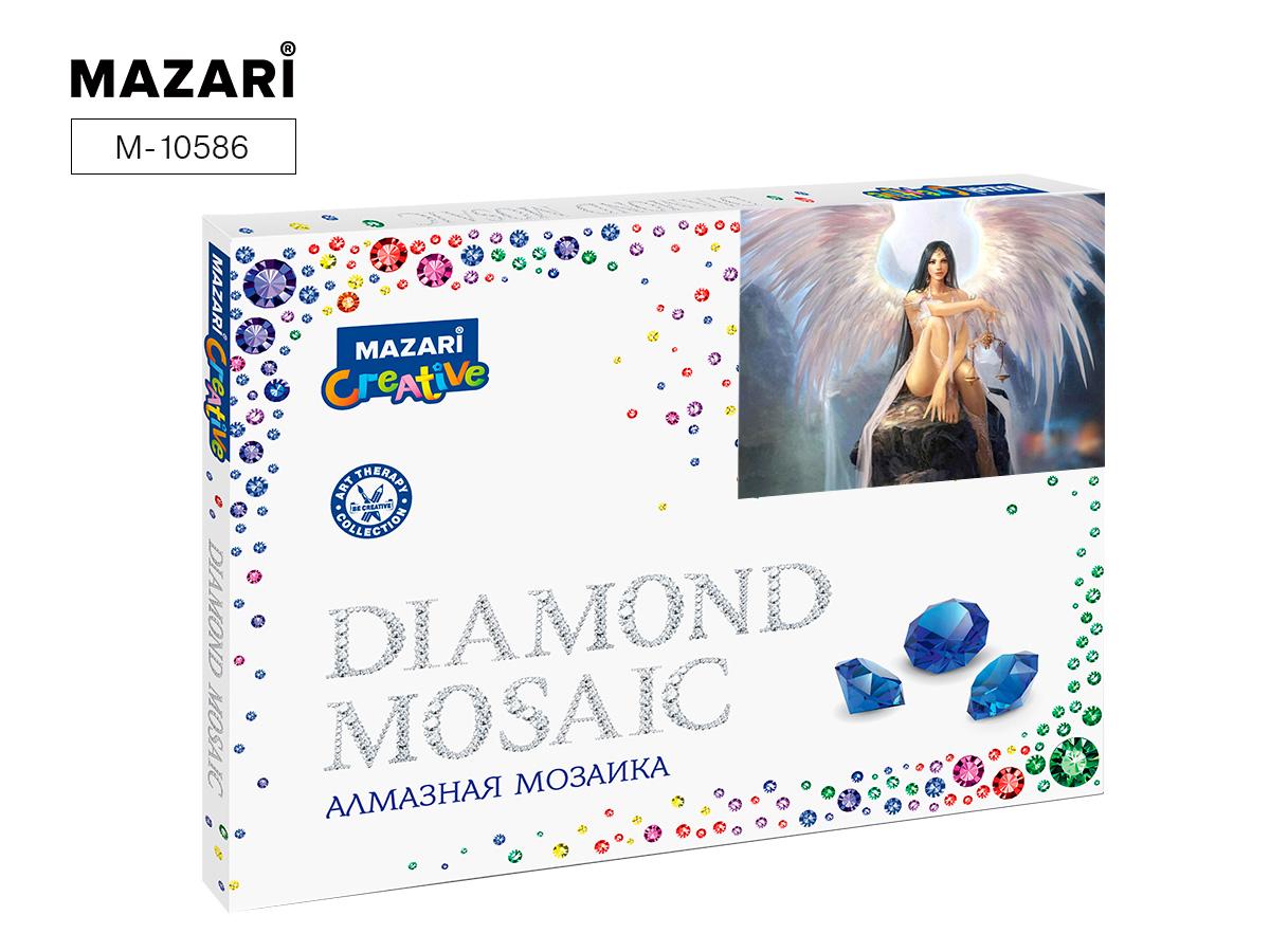 Алмазная мозаика 30*40см Девушка-ангел част.выкл.
