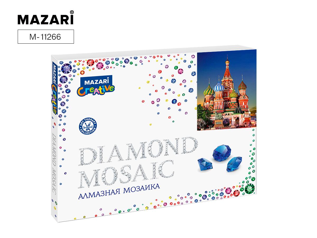 Алмазная мозаика полная выкладка 40*50см Собор