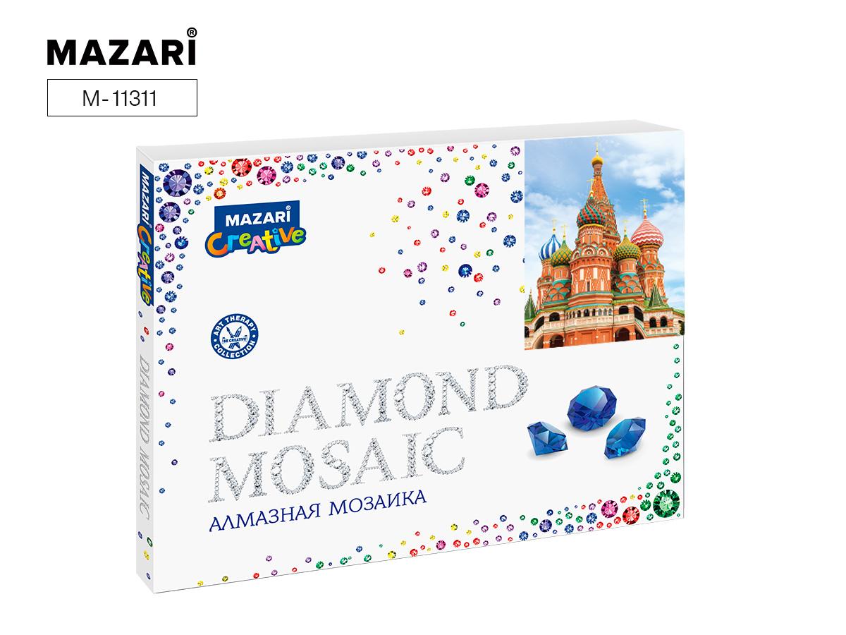 Алмазная мозаика полная выкладка 40*50см Собор Василия Блаженного
