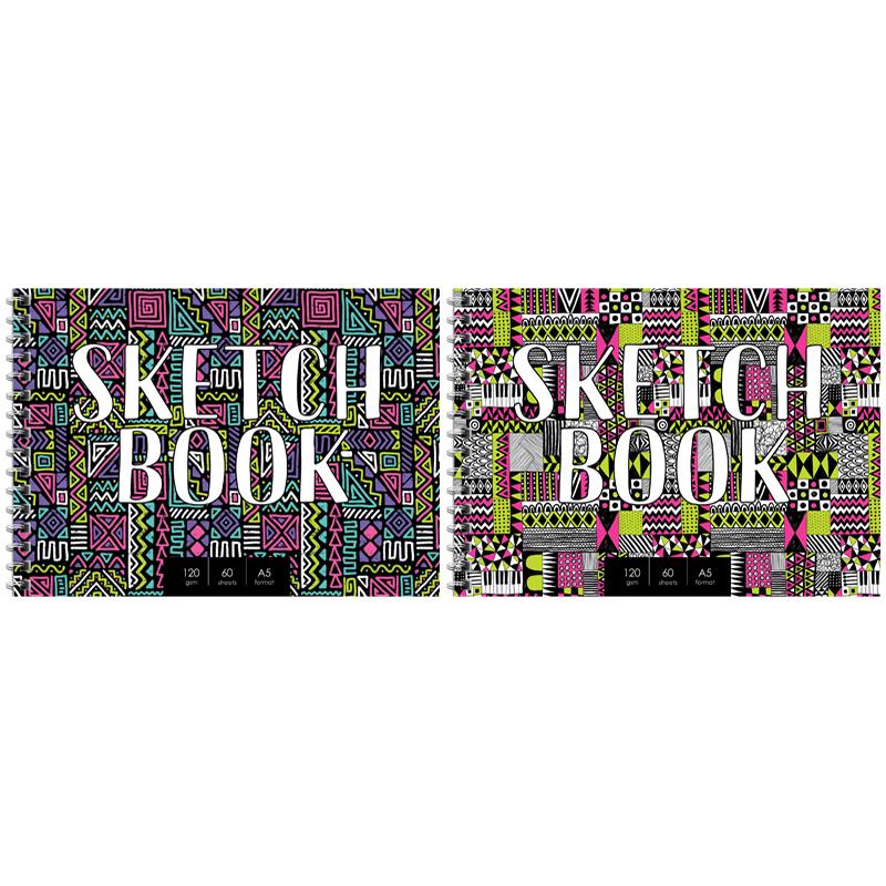 """Скетчбук А5 60л гр. ArtSpace """"Sketchbook"""" 120г/м2"""