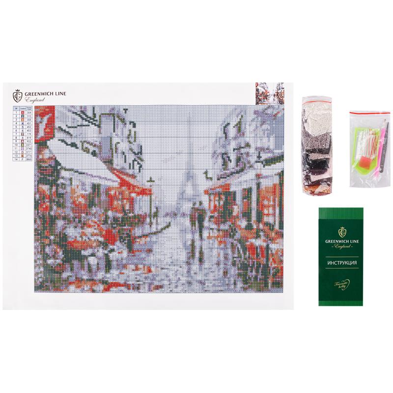 Алмазная мозаика Greenwich Line 30*40 Париж