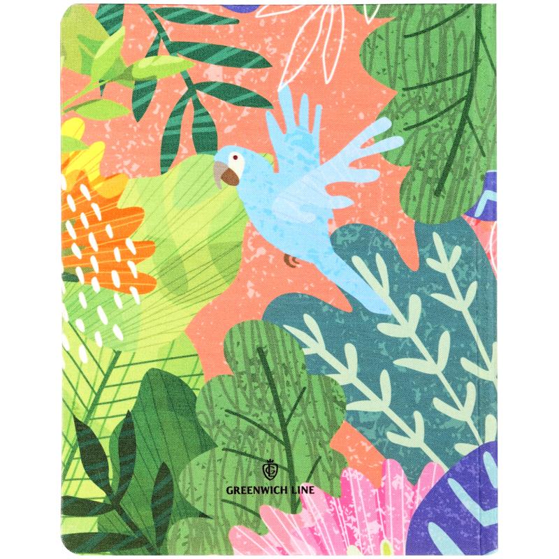 """Дневник 1-11 Greenwich Line иск.кожа тв.обл. """"Colorful forest"""""""