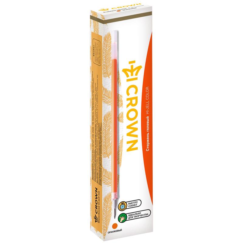 Стержень гел. Crown 0,7 оранжевый