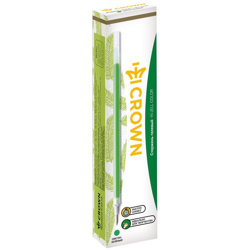 Стержень гел. Crown 0,7 св.-зеленый