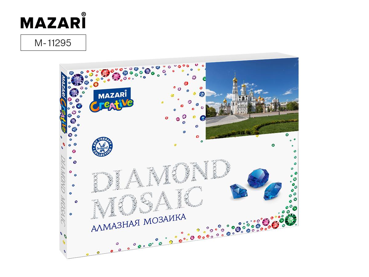 Алмазная мозаика 40*50см Белокаменный храм
