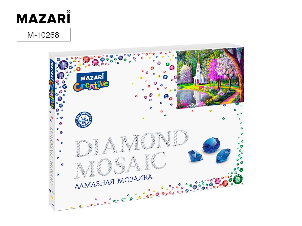 Алмазная мозаика 40*50см Необыкновенный сад