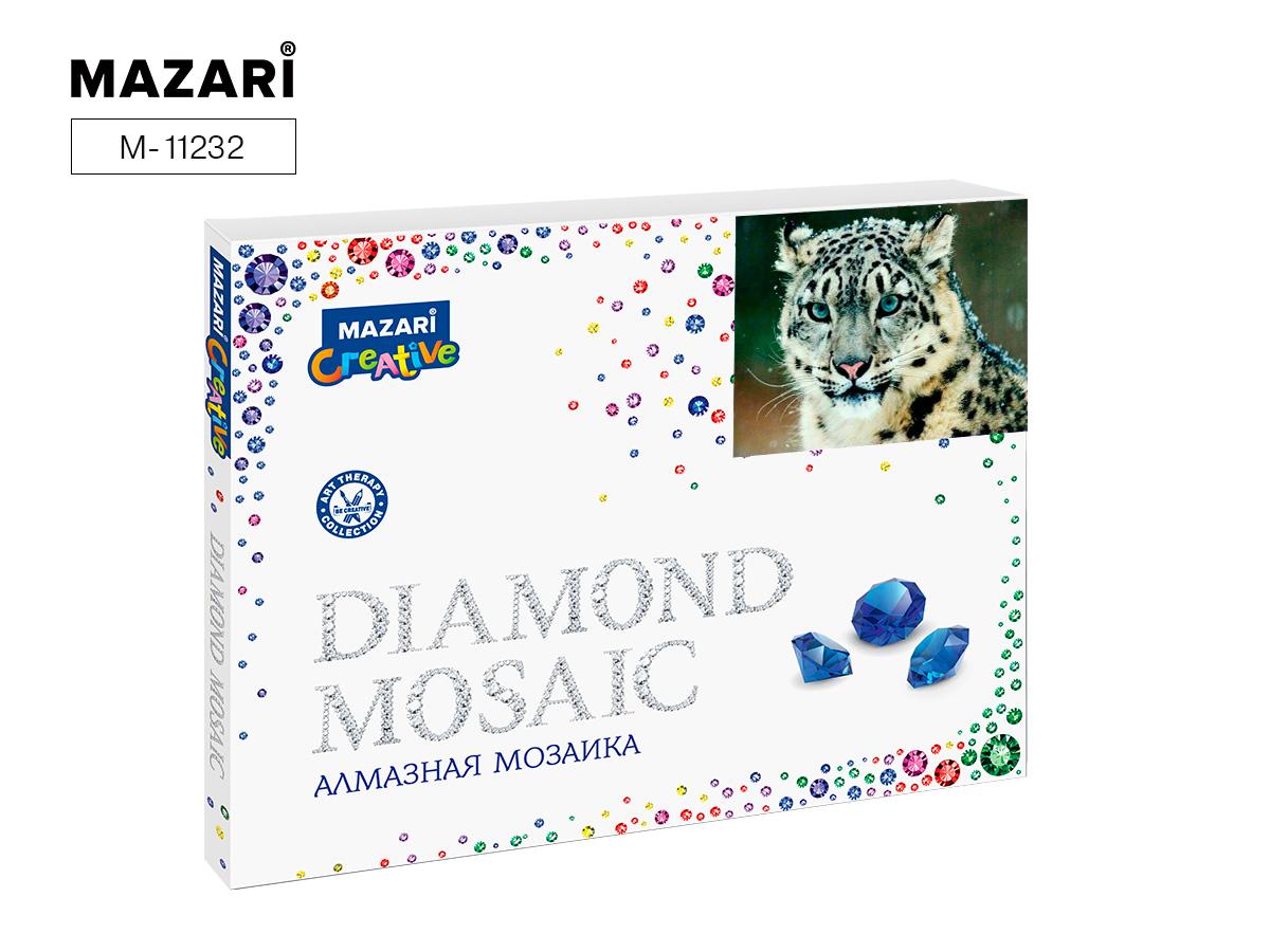 Алмазная мозаика полная выкладка 40*50см Дикий кот