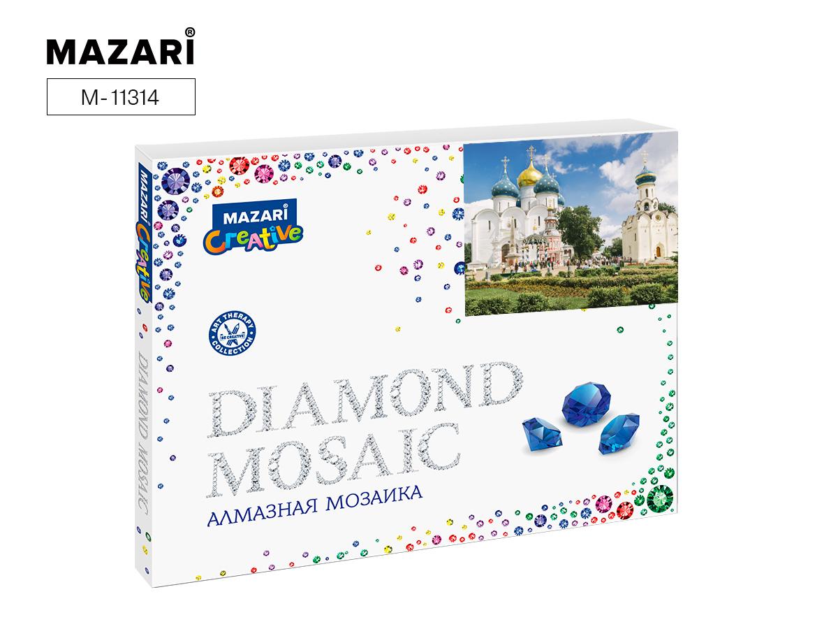 Алмазная мозаика полная выкладка 40*50см Троице-Сергиева Лавра-1