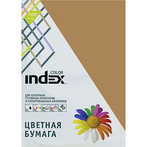 "Бумага ""Index Color"" А4 80г/м2 100л табачная"