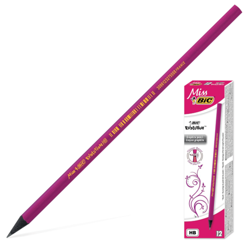 Карандаш BIC Miss Bic Evolution НВ