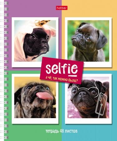"""Тетр. 48л Хатбер гр. """"Selfie"""""""