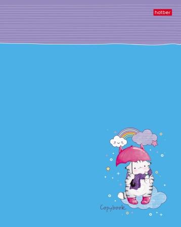 """Тетр. линия 48л Хатбер тиснение """"Приключения кота Пирожка"""""""