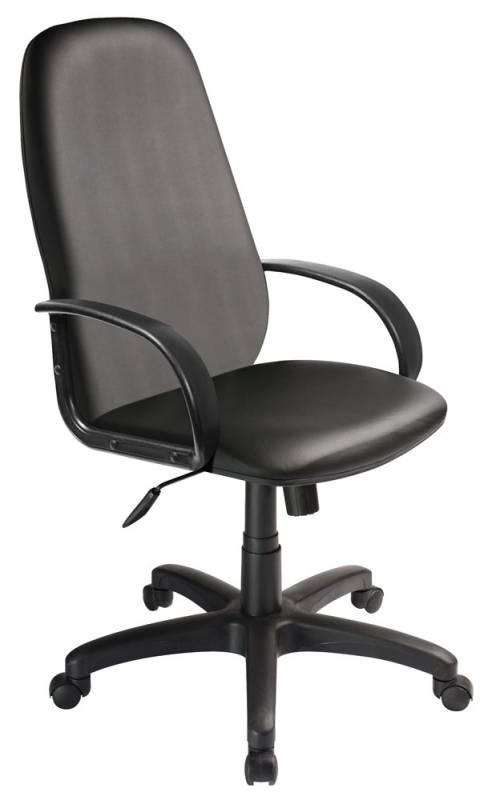 Кресло руководителя Бюрократ CH-808AXSN черный Or-16 искусственная кожа крестовина пластик