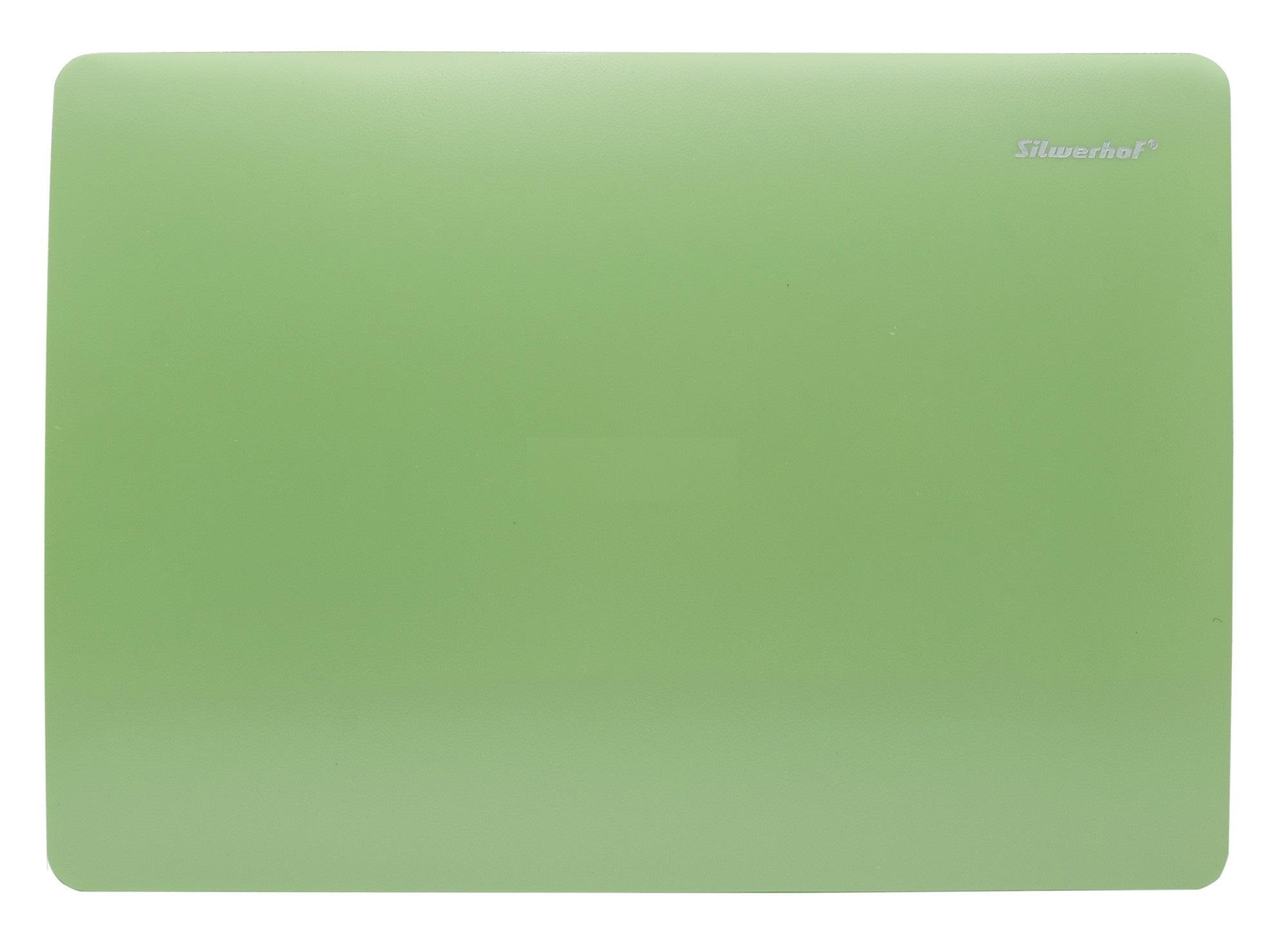 Доска для лепки А4 Silwerhof Pearl пластик 1мм зеленая