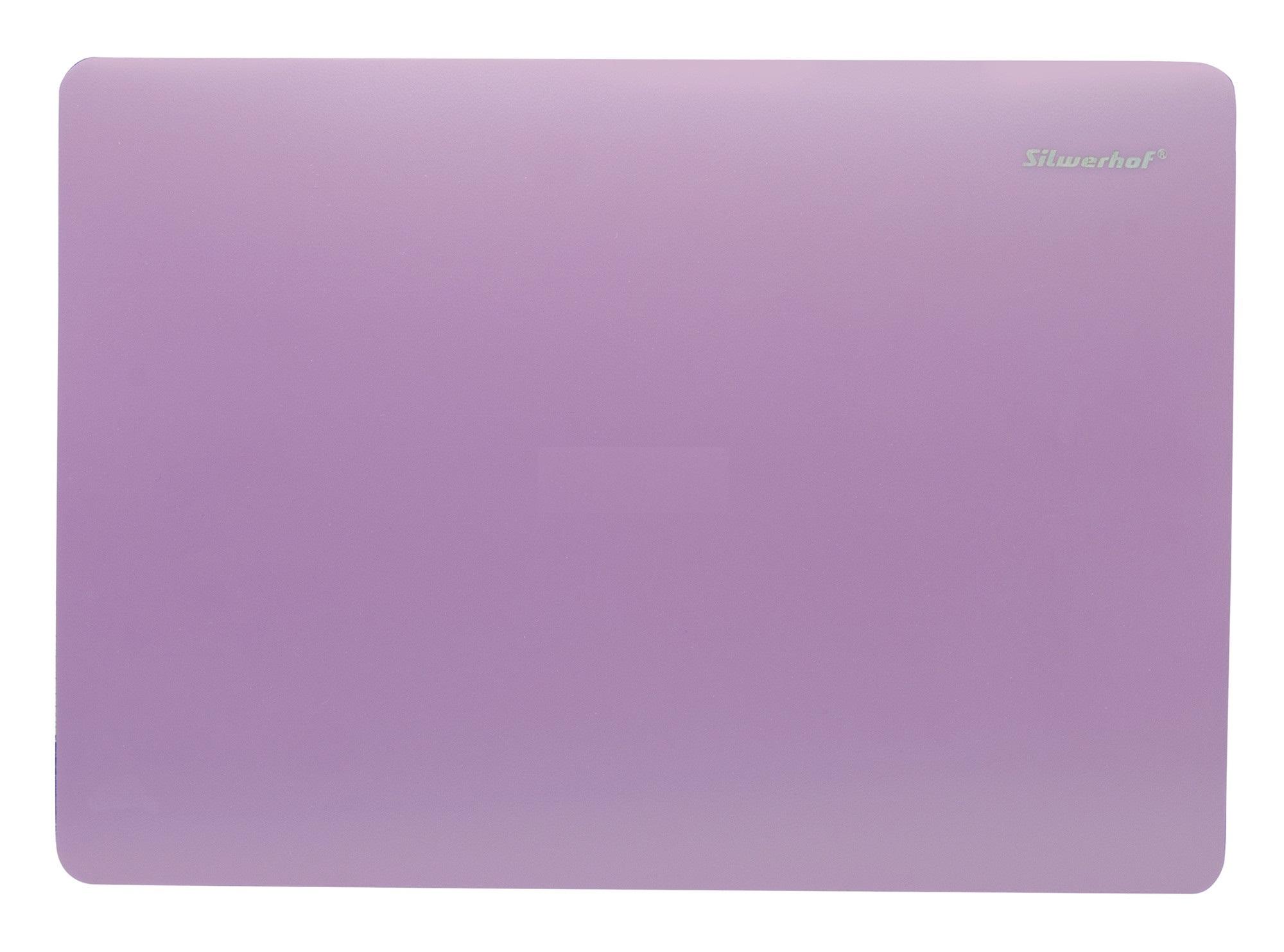 Доска для лепки А4 Silwerhof Pearl пластик 1мм розовая