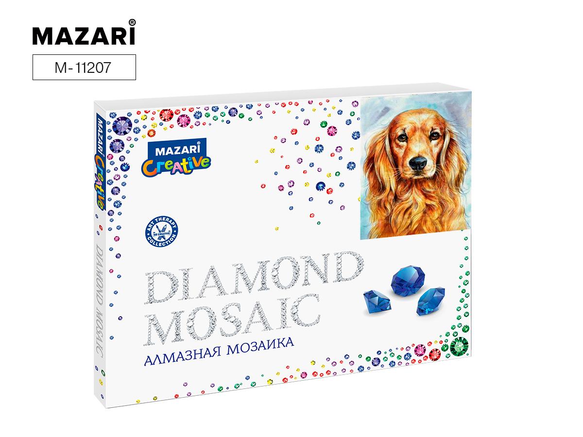 Алмазная мозаика 40*50см Пес
