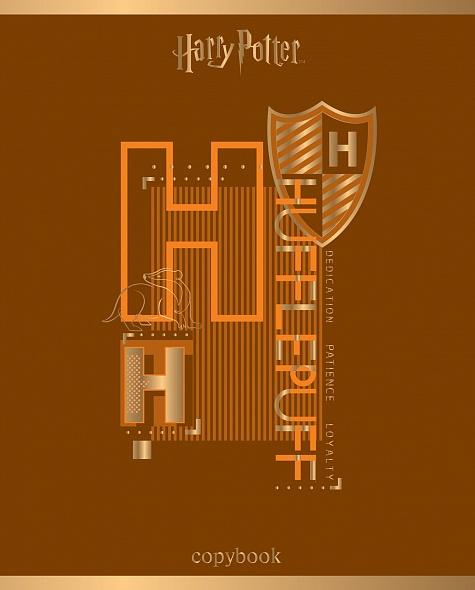 """Тетр. 48л Хатбер 3D фольга """"Гарри Поттер"""""""