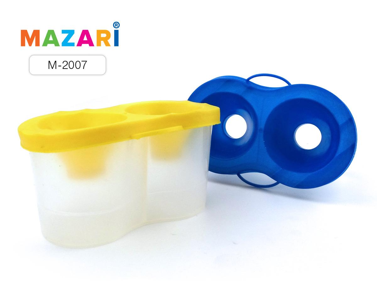 Стакан-непроливайка двойной Mazari ассорти
