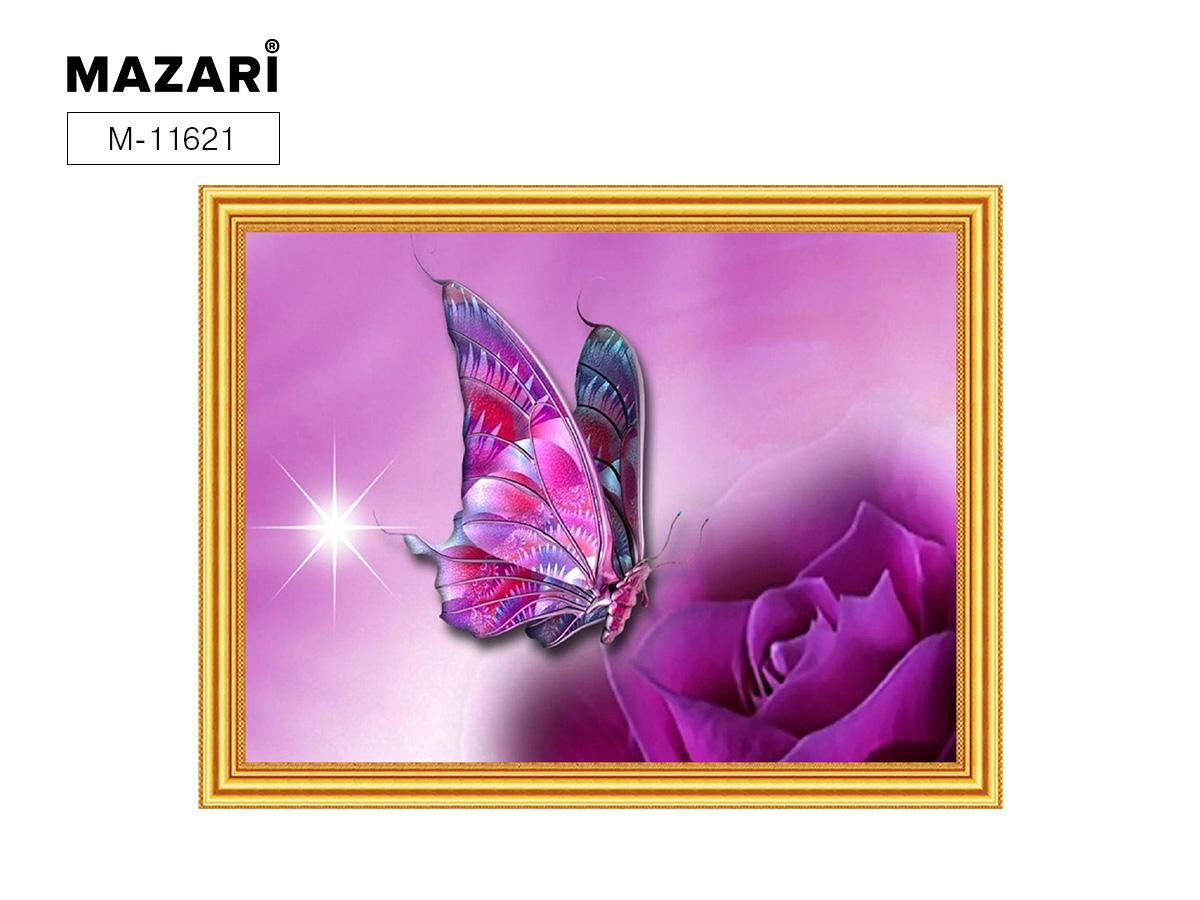 Алмазная мозаика и картина по номерам 30*40см Бабочка