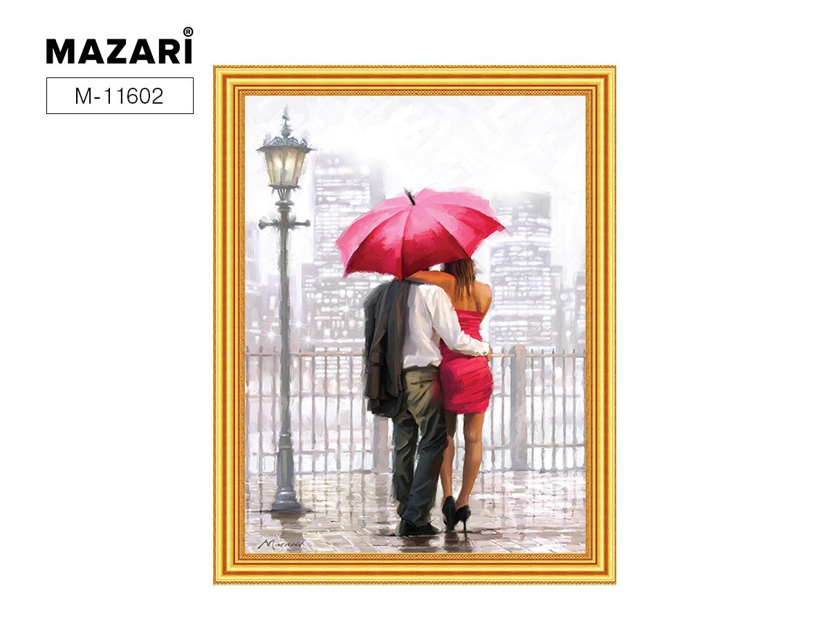 Алмазная мозаика и картина по номерам 30*40см Двое под зонтом