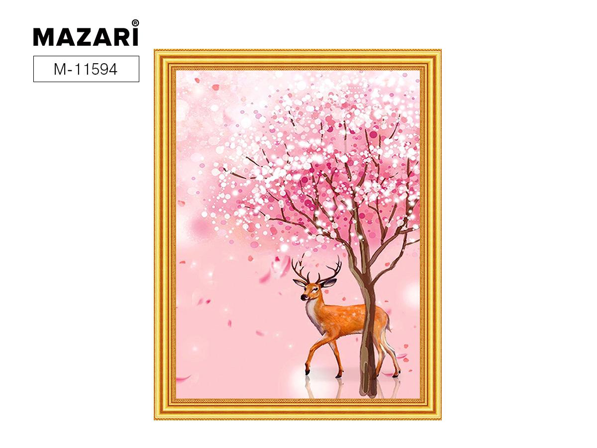 Алмазная мозаика и картина по номерам 30*40см Олень у дерева