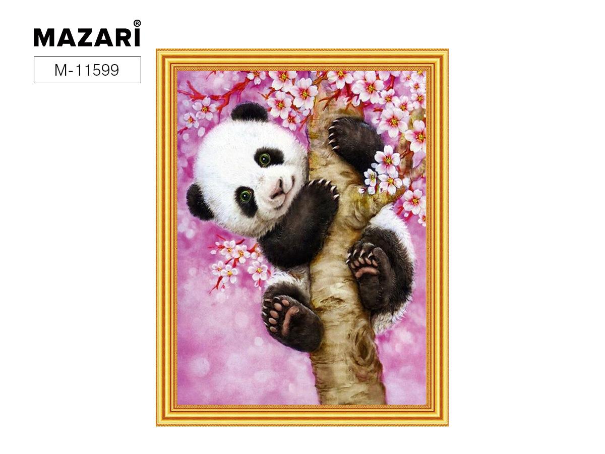 Алмазная мозаика и картина по номерам 30*40см Панда