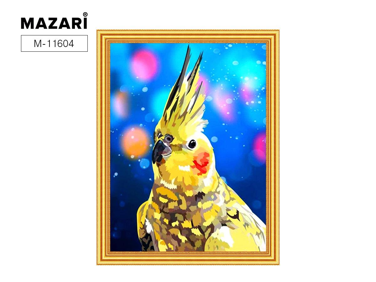 Алмазная мозаика и картина по номерам 30*40см Попугай