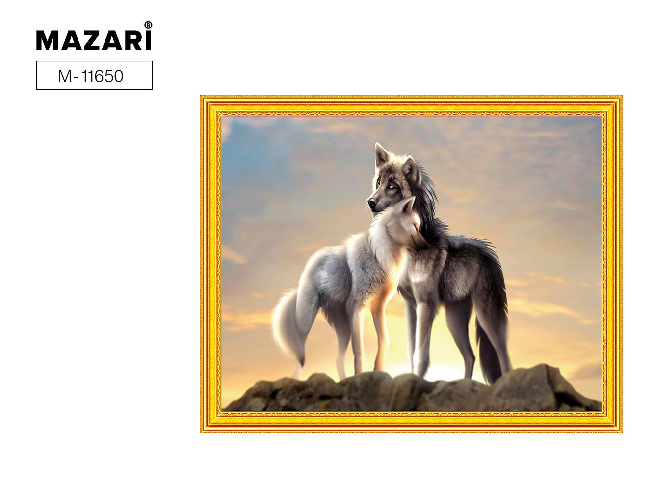 Алмазная мозаика и картина по номерам 40*50см Волки