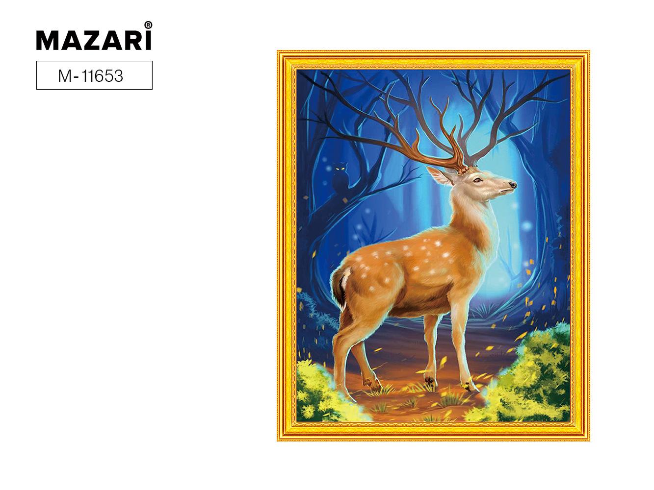 Алмазная мозаика и картина по номерам 40*50см Олень в лесу