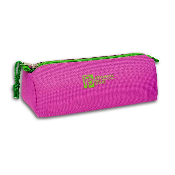 Пенал мягкий Феникс+ Фиолетовый шелкография