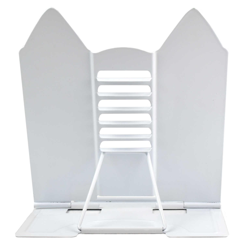 """Подставка для книг Феникс+ металл 19*20*15,5см """"Белый кот"""""""