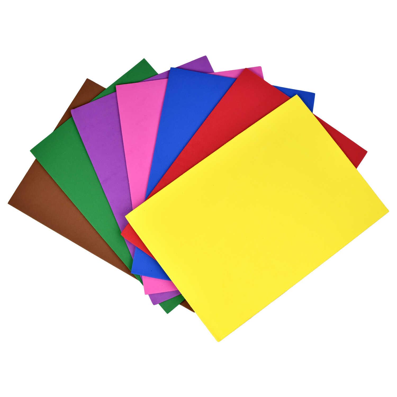 Цвет.бумага А4 Феникс+ EVA 7цв