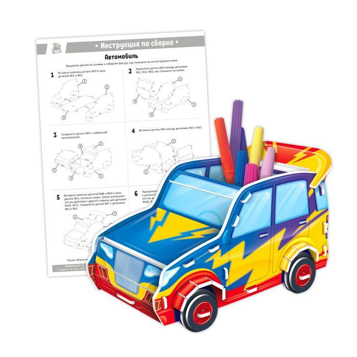 Пазл мягкий 3D Феникс+ Автомобиль 20*30см