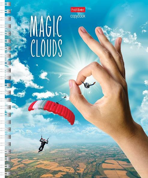 """Тетр. 48л Хатбер гр. мат.лам. """"Волшебные облака"""""""