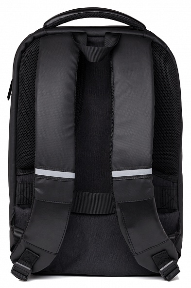 Рюкзак Хатбер LED Frame экокожа 1 отд.+отд. для ноутб. черный